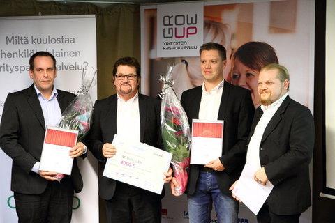 Start Up 2015 Erno Vuori, Aeroway, Hannu Myllymäki, Miikka Vainio ja Jere-Miikka Myllymäki, Memorial